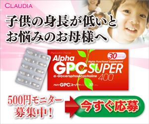 αGPCスーパー(500円モニター)