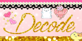 【SP対応】Decode(500円コース)